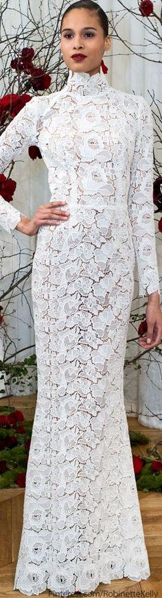 27 Ideas wedding gown winter zuhair murad for 2019 White Fashion, Look Fashion, Fashion Design, Lace Dress, Dress Up, White Dress, Beautiful Gowns, Beautiful Outfits, Couture Fashion