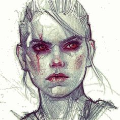 ArtStation - Doodles/traditional Portraits 3.0, Rebeca Puebla