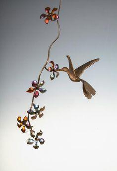 HummingBird-Flowers