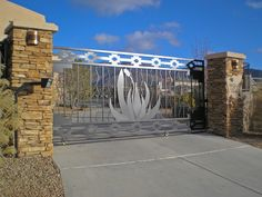 modern southwest decor | ... || Detail || Southwestern Contemporary || Gate-It Access Systems