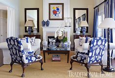 A Fashion Designer's Home in the Hamptons | Traditional Home