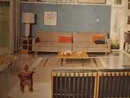 Image result for 1960s interior design