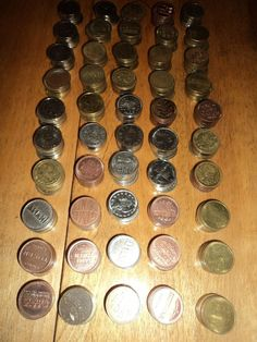 250 Pachislo Tokens .984 NON-MAGNETIC, Tested Mixed Gold, SIlver, Brass, Copper