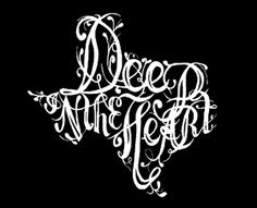 """deep in the heart"" of texas... this would make an awesome decal for the back of the truck!"