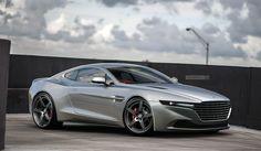 Aston Martin Lagonquish on Behance by Jack Davies