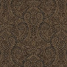 Assyria Paisley - Cordovan - Paisley - Fabric - Products - Ralph Lauren Home - RalphLaurenHome.com