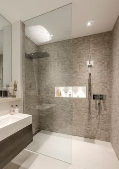 contemporary shower room ideas - Google Search