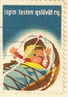 Kirjeitä myllyltäni: Joulumerkkejä ja vähän muitakin Mail Art, Postage Stamps, Martini, Finland, Childrens Books, Nostalgia, Paper, Christmas, Painting