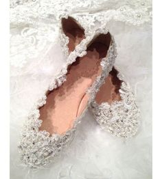 Shop for and buy the Crystal Bridal Shoe by Lace N Bling AA_L399 at WardrobeShop.com. $238 Discounted for you! Click or call 323-592-9172 for more info.