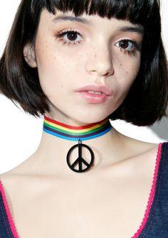 #peace #choker