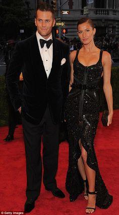 Gisele Bundchen's best accessory, husband Tom Brady @ The MET Costume Institute Gala 2012