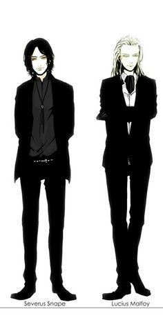 Lucius Malfoy & Severus Snape