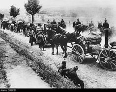 German field kitchens during the Gorlice-Tarnow Offensive.