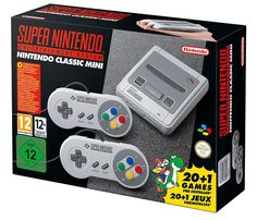 Buy Nintendo SNES Classic Edition Console on at Mighty Ape NZ. Please Note: The AC adaptor is sold separately. The Nintendo Classic Mini: Super Nintendo Entertainment System contains 21 pre-installed classic game. Super Mario World, Super Mario Rpg, Super Nintendo Classic Mini, Snes Classic Mini, Nintendo Super Nes, Super Mario Kart, Nintendo Switch, Star Fox, Donkey Kong
