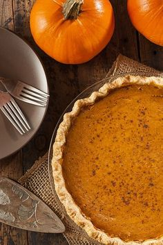Recipe For Bourbon Pumpkin Pie