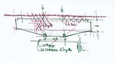 b>Title : Art gallery Scale : N/A Date : Author : Renzo Piano Drawing number : N/A Ar - Drawings - Lingotto Factory Conversion Renzo Piano, Sketches, Architectural Drawings, Architects, Concept, Sketch, Drawings, Building Homes, Doodles