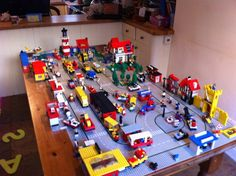 a LEGO city lego-fun
