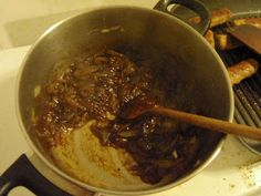 Roasted garlic beer jam uses a czech lager