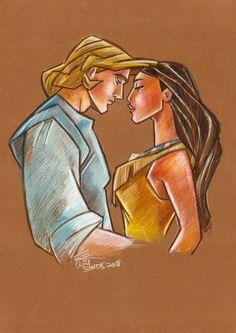 Fan Art Disney Joaquimdumbo personnages crayonnés