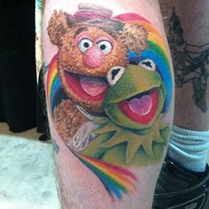 Muppets tattoo by Katrina Gafford