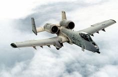 The A-10 Thunderbolt II is an American single-seat, twin-engine, straight-wing jet aircraft developed by Fairchild-Republic and operated by the United States Air Force to provide close air support (CAS) of ground forces by attacking tanks, armored vehicles, and other ground targets with a limited air interdiction capability. It is designed from the ground up around the massive GAU-8 avenger 30mm cannon, and is armored to withstand incoming fire up to 23mm. It is also designed to be...