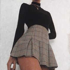 Adrette Outfits, Cute Skirt Outfits, Cute Skirts, Teen Fashion Outfits, Retro Outfits, Cute Casual Outfits, Look Fashion, Stylish Outfits, Fall Outfits
