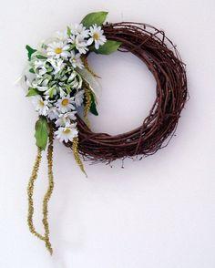 daisy mum wreath - Google Search