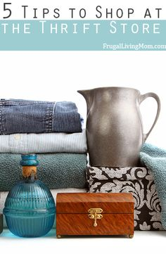 5 Tips to Shop at Thrift Stores