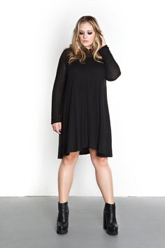 Domino Dollhouse - Plus Size Clothing: Halo Dress
