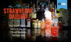 Our Fresh Strawberry Daiquiri for Weddings
