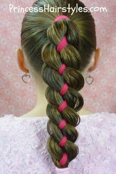 4 strand Ribbon Braid
