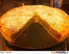 Jablečný páj  - koláč