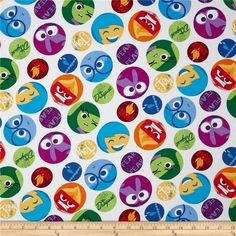 Disney Pixar Inside Out Framed Emotions Multi from @fabricdotcom  Designed by Disney and licensed to Springs Creative Products, this cotton print fabric is perfect for quilting, apparel and home decor accents. Colors include black, red, orange, yellow, grey and various shades of purple and blue. Due to licensing restrictions, this item can only be shipped to USA, Puerto Rico, and Canada.