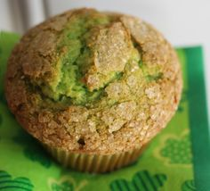 Saint Patrick's Day Recipe: Green Pistachio Muffin Recipe | Jenns Blah Blah Blog | Tips & Trends for Living The Family Life