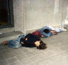 homeless children, Berlin, Germany