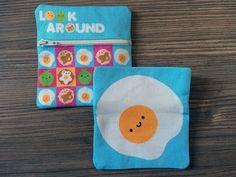 Kawaii Coin Purse - Happy Fried Egg (8.00 GBP)