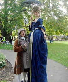 VICTORIAN STILT WALKERS, Victorian Stilt Walkers  VICTORIAN STILT WALKERS We can provide a range of Victorian themed stilt walkers. We have many more themed stilt walking costumes for a Victorian themed event. Please contact us.