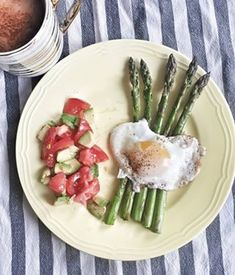 Post Dąbrowskiej - co jeść? Jadłospis na cały tydzień | Inspirująca XL-ka Asparagus, Healthy Recipes, Vegetables, Food, Food Food, Studs, Essen, Healthy Eating Recipes, Vegetable Recipes