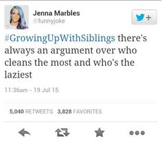 Community Post: 50 Tweets That Perfectly Sum Up Growing Up With Siblings