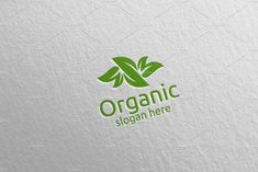 Natural and Organic Logo design template 33 Logo Design Template, Logo Templates, Organic Logo, School Design, Design Bundles, Free Design, Slogan, Design Elements, Presentation