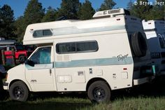 Sportsmobile 4x4 Off Road Camper Van   Tiger Astro based RV. Nice little compact rigs.