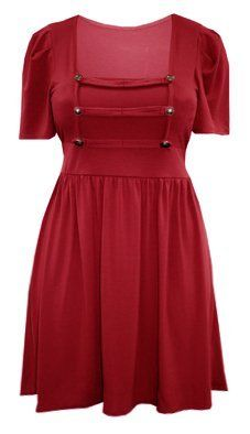 Ladies Plus Size Red Military Style Tunic Dress 1122 Curvylicious, http://www.amazon.co.uk/dp/B00BW1JZOS/ref=cm_sw_r_pi_dp_ujsdsb19A2M1P
