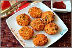 Sabudana Vada Recipe | Sago Vada Recipe | Jevvarasi Vadai | Maharashtrian Style Sabudana Vada Recipe | Navratri Vrat Recipe