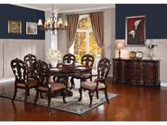 Beautiful Dining Room Set Pennsylvania House Cherry Table Chairs Glamorous Pennsylvania House Dining Room Set Decorating Design
