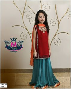 4fec1db22fe Maria B Ready to wear Eid Collection 2014 for Kids and Girls Maria B Party  Wear