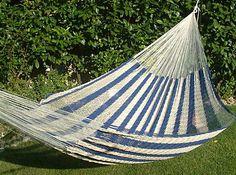 crocheted hammock