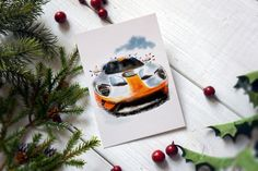 Excited to share this item from my shop: Ford GT Christmas Holiday Card. Architecture Drawing Art, Russian Architecture, Holiday Cards, Christmas Cards, Jeep Gifts, Car Card, Classic Race Cars, Cards For Boyfriend, Kids Room Wall Art
