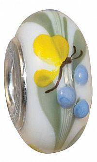 Fenton glass bead