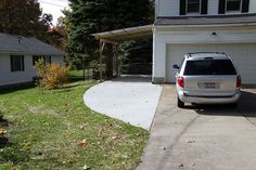 "tutorial for DIY carport I think this is pretty close to what we want.but ours will be a bit ""nicer"" and finished looking"