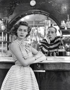 Humphrey Bogart and Lauren Bacall 1954